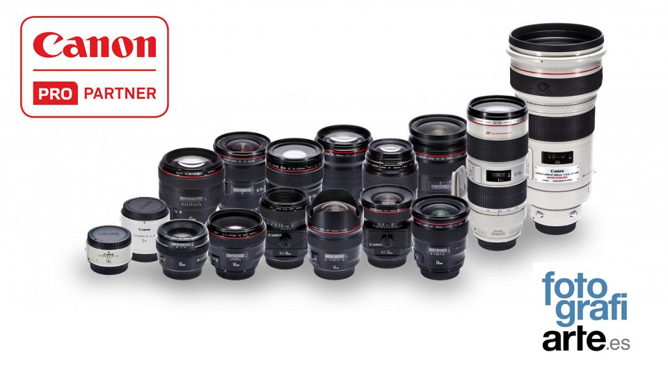 Objetivos Canon EOS EF - Club Foto Nauta S.L.
