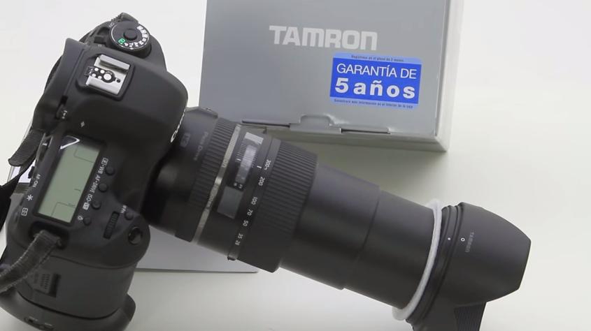 Tamron 28-300 mm f3.5-5.6 Di VC PZD