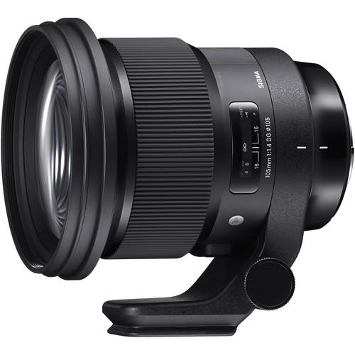 objetivo Sigma105mm F1.4 DG HSM Art