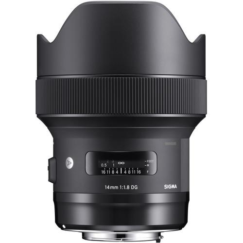 Objetivo Sigma Art 14mm f1.8