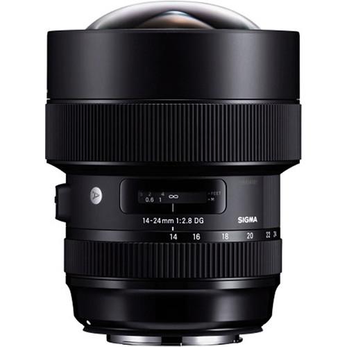 Objetivo Sigma 14‑24mm f2.8