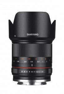 21mm F1.4 - 1 front