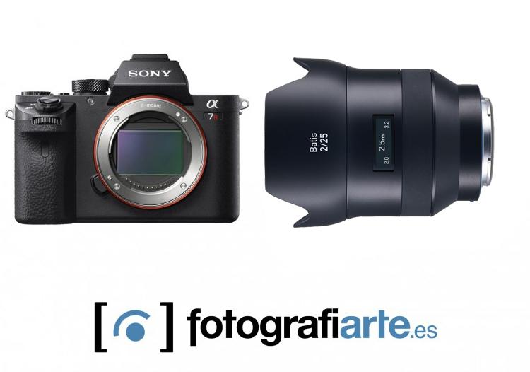 Sony Alpha 7r II + Zeiss Batis 25m f2
