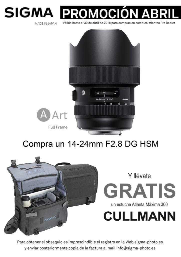 promocion objetivo 14-24mm f2.8 DG HSM Art