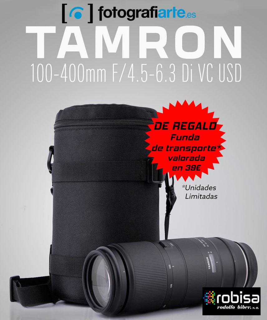 promocion tamron 100-400mm