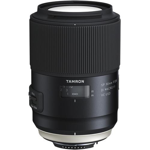 Tamron SP 90mm f2.8 Di Macro VC USD montura Nikon F
