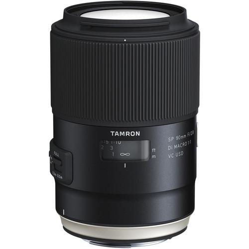 Tamron SP 90mm f2.8 Di Macro VC USD montura canon EF