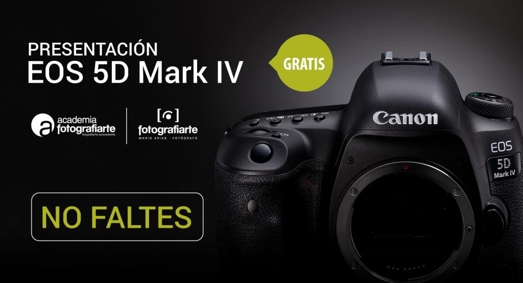 Presentación de Canon EOS 5d Mark IV