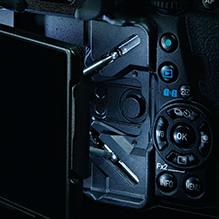 LCD pentax K1
