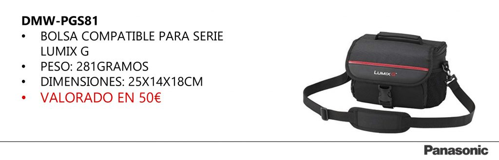 Estuche Regalo Panasonic G80