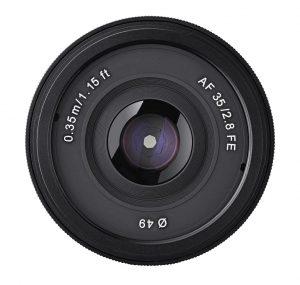 Objetivo Samyang AF 35mm f2.8 Sony E
