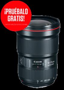 oferta Canon 16-35mm