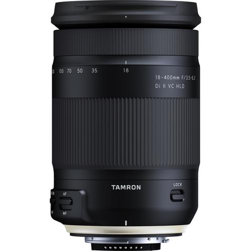 Objetivo Tamron 18-400mm