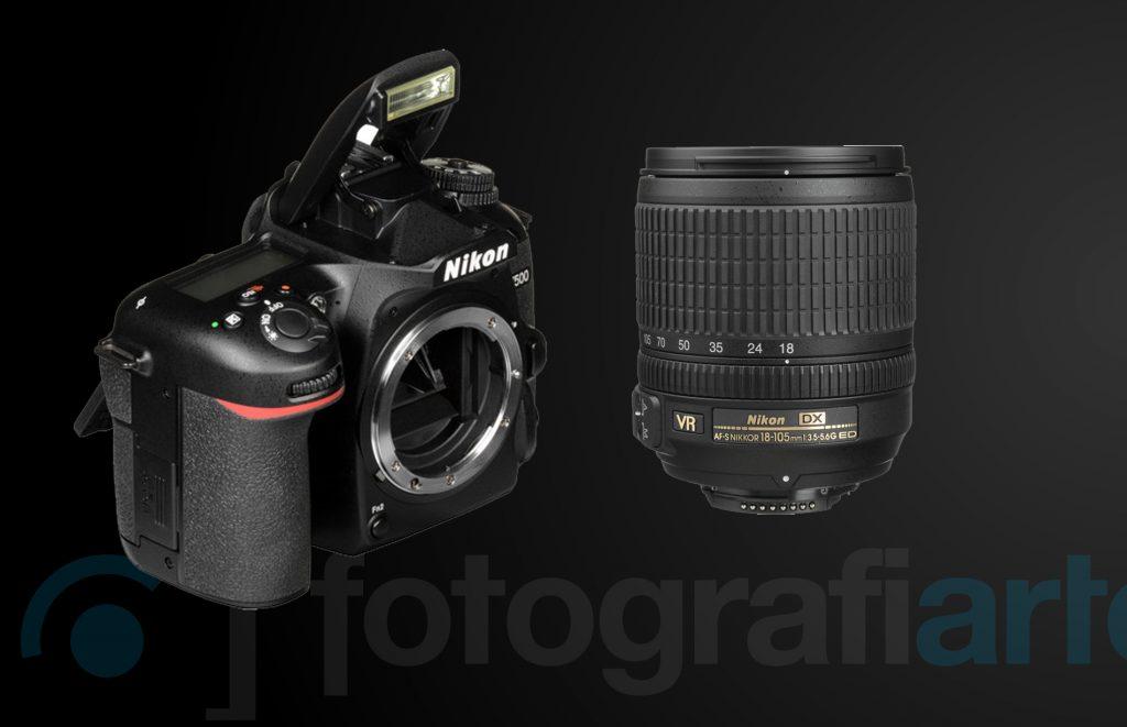 Nikon D7500 + 18-105mm