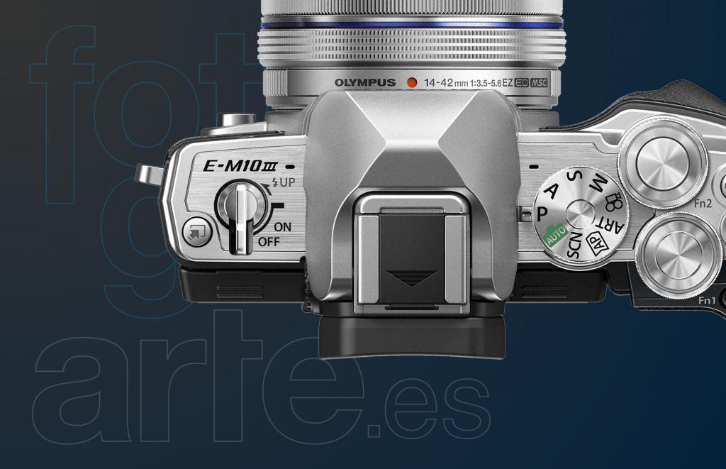 Comprar Olympus OMD EM10 Mark III + 14-45mm EZ +40-150mm