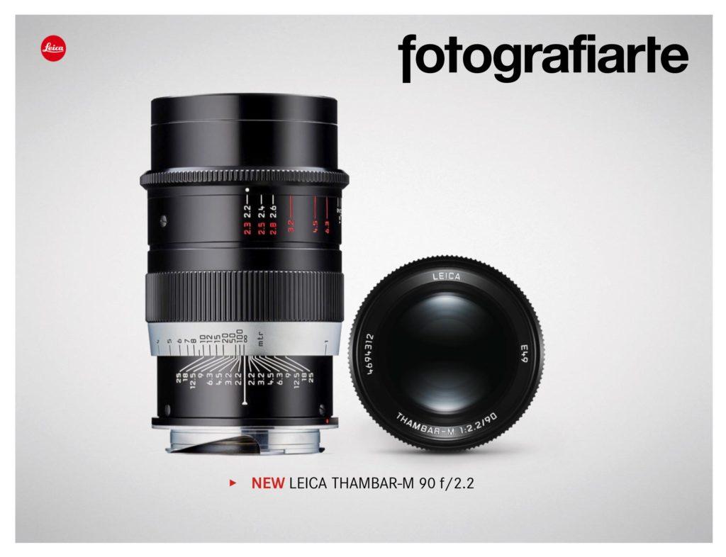 Leica90mm f2.2 Thambar