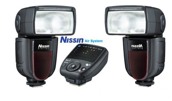 Kit Nissin Di 700 x 2 Uds + Emisor Air 1