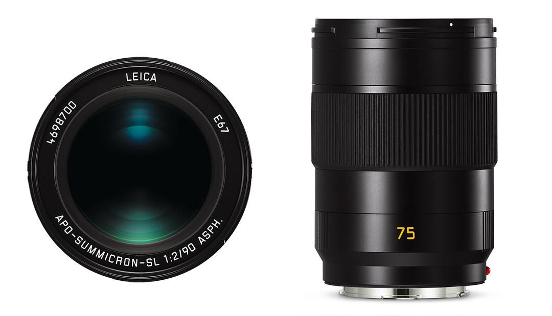 Leica APO-Summicron SL 75mm f 2 ASPH &Leica APO-Summicron SL 90mm f 2 ASPH