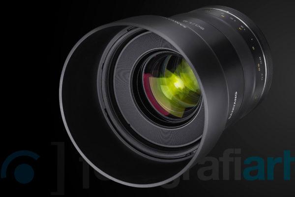Objetivo Samyang XP 50mm f1.2