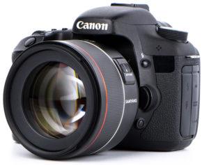 85mm Samyang para Canon EF