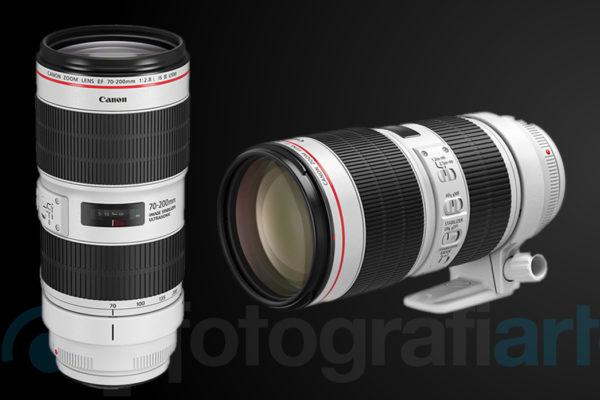 Canon EF 70-200mm f2.8L IS III USM   Canon EF 70-200 mm f4L IS II USM