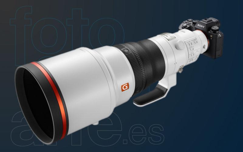 Objetivo 400mm f2.8 GM Sony