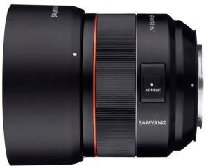 precio Samyang 85mm f1.4 EF