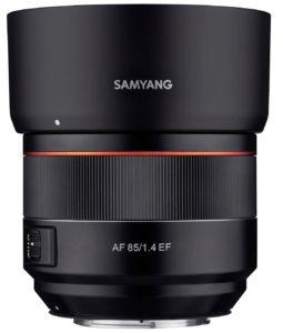 Samyang 85mm f1.4 AF EF