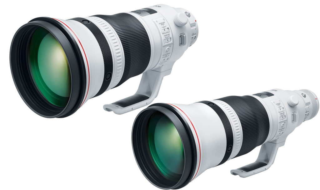Canon 400mm f2.8 | Canon 600mm F4