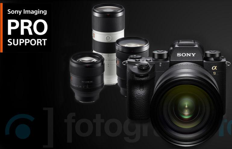 Imaging PRO Support de Sony