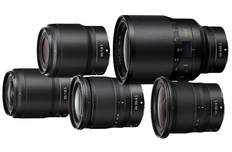 objetivos Nikon sin espejo
