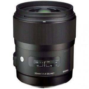 Objetivo SIGMA 35mm f1.4 DG HSM Art