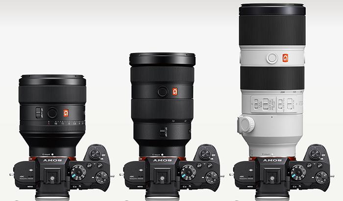 objetivos Sony G Master