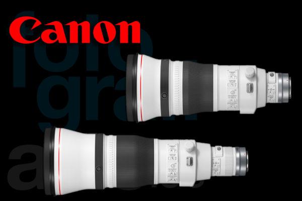Teleobjetivos Canon RF Pro